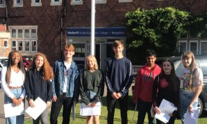 GCSE results success